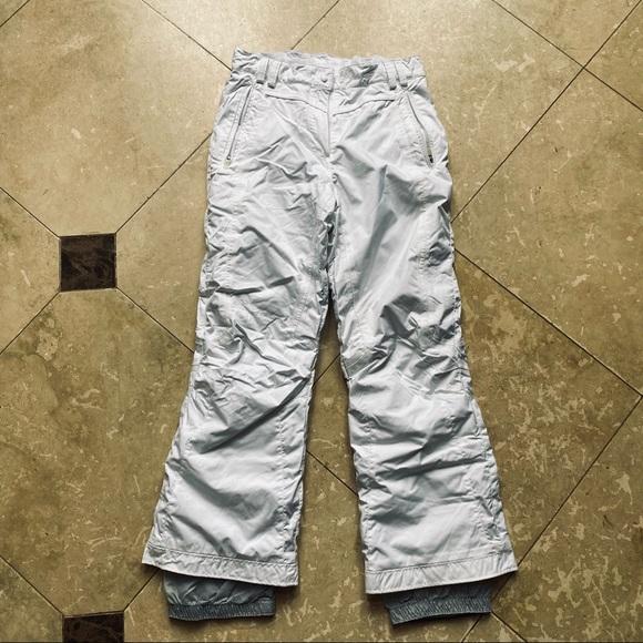 Obermeyer Ski Pant size 16 Juniors - White